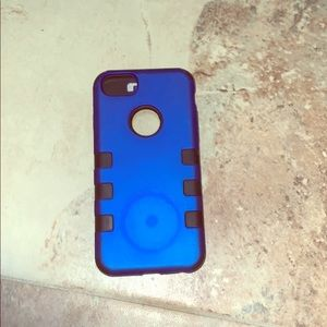Blue IPhone 6,6s and 7 case 3 layers
